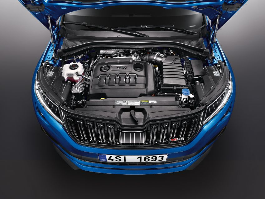 Skoda Kodiaq RS – SUV 7-tempat duduk paling pantas di Nurburgring, 2.0L diesel twin turbo, 240 PS/500Nm Image #867032