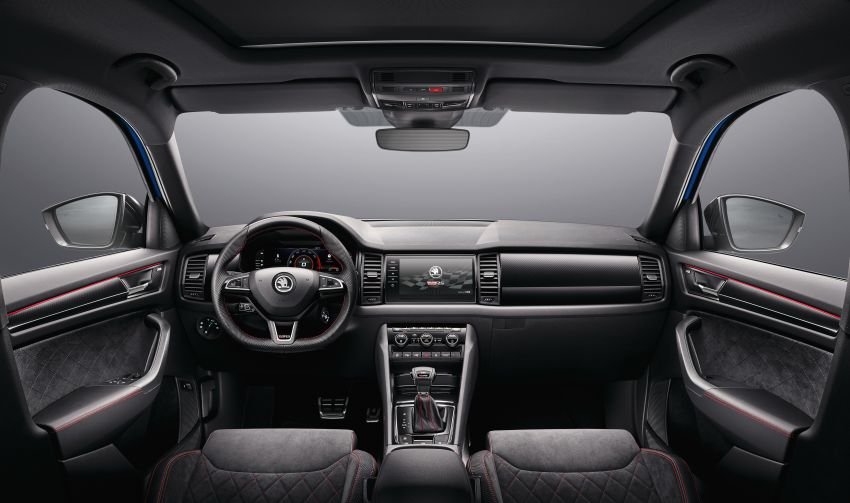 Skoda Kodiaq RS – fastest 7-seater SUV on the 'Ring Image #866750