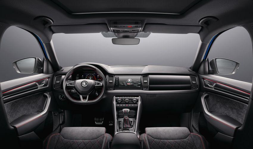Skoda Kodiaq RS – SUV 7-tempat duduk paling pantas di Nurburgring, 2.0L diesel twin turbo, 240 PS/500Nm Image #867029