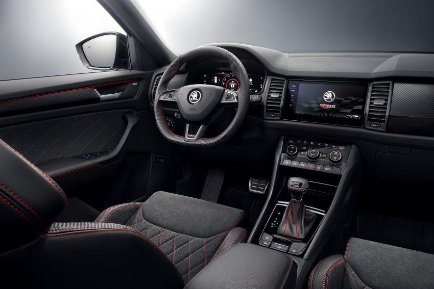 Skoda Kodiaq RS – SUV 7-tempat duduk paling pantas di Nurburgring, 2.0L diesel twin turbo, 240 PS/500Nm Image #867028