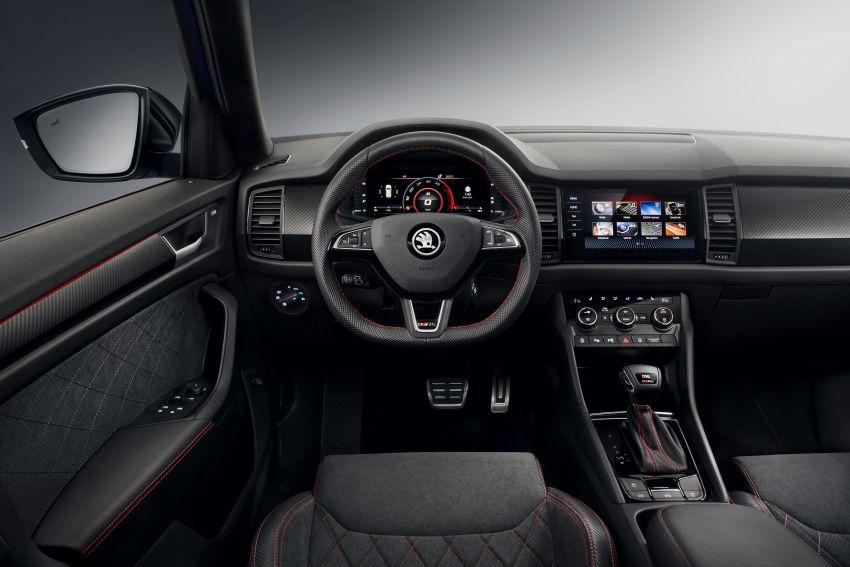 Skoda Kodiaq RS – SUV 7-tempat duduk paling pantas di Nurburgring, 2.0L diesel twin turbo, 240 PS/500Nm Image #867023