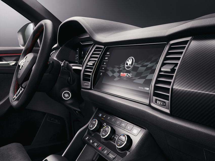 Skoda Kodiaq RS – SUV 7-tempat duduk paling pantas di Nurburgring, 2.0L diesel twin turbo, 240 PS/500Nm Image #867024