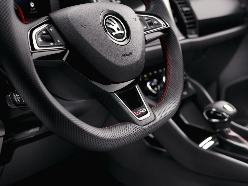 Skoda Kodiaq RS – SUV 7-tempat duduk paling pantas di Nurburgring, 2.0L diesel twin turbo, 240 PS/500Nm Image #867020