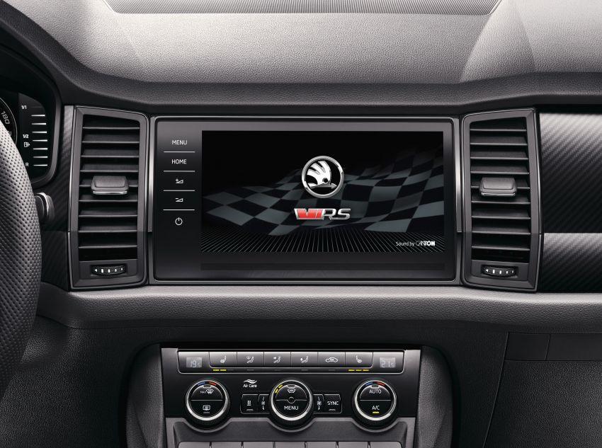 Skoda Kodiaq RS – SUV 7-tempat duduk paling pantas di Nurburgring, 2.0L diesel twin turbo, 240 PS/500Nm Image #867017