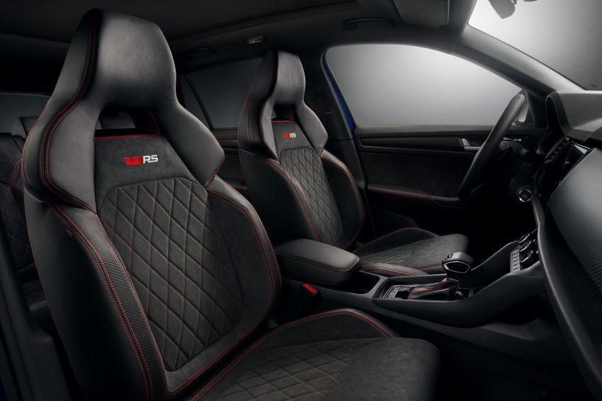Skoda Kodiaq RS – SUV 7-tempat duduk paling pantas di Nurburgring, 2.0L diesel twin turbo, 240 PS/500Nm Image #866994