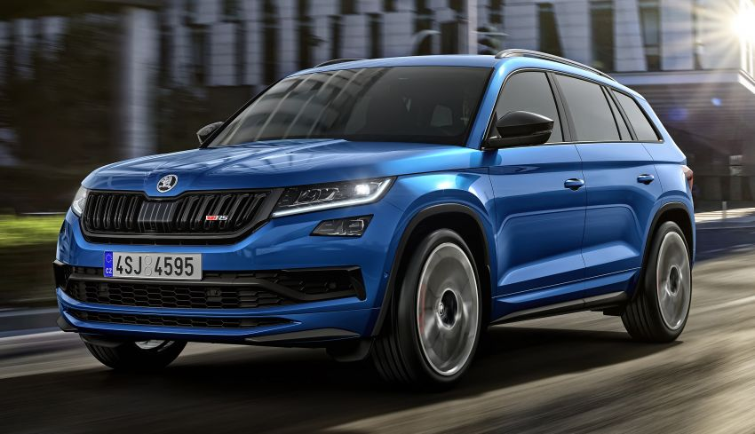 Skoda Kodiaq RS – fastest 7-seater SUV on the 'Ring Image #866770