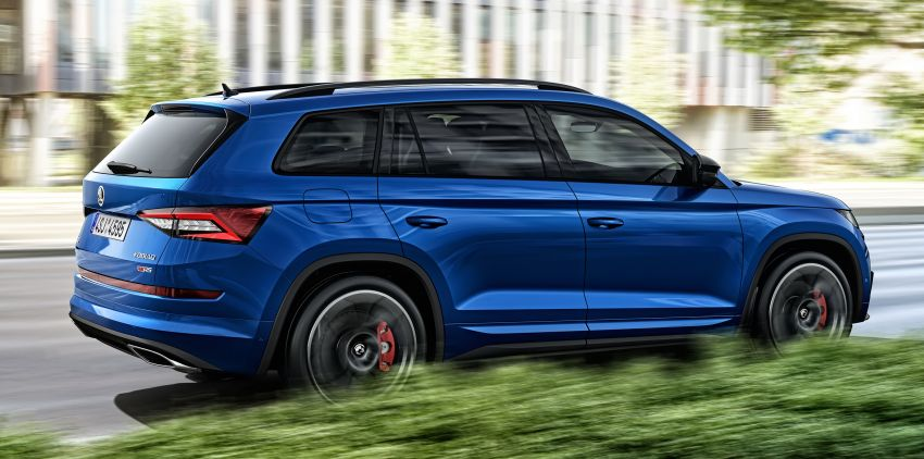 Skoda Kodiaq RS – fastest 7-seater SUV on the 'Ring Image #866772