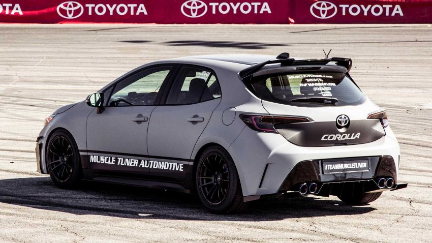 Toyota bawa lima buah Corolla hatchback generasi baharu yang diubahsuai ke pertunjukkan SEMA 2018 Image #881684