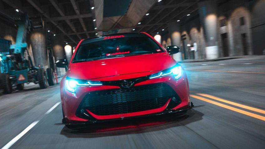 Toyota bawa lima buah Corolla hatchback generasi baharu yang diubahsuai ke pertunjukkan SEMA 2018 Image #881643