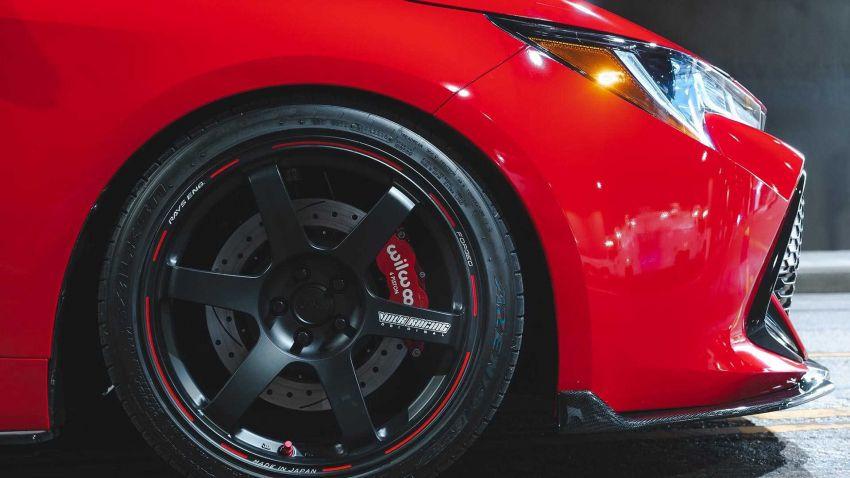 Toyota bawa lima buah Corolla hatchback generasi baharu yang diubahsuai ke pertunjukkan SEMA 2018 Image #881640