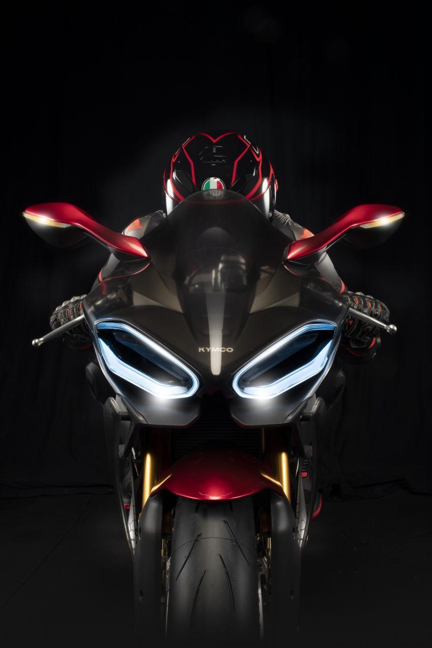 2018 EICMA: KYMCO shows SuperNEX e-bike Image #886813