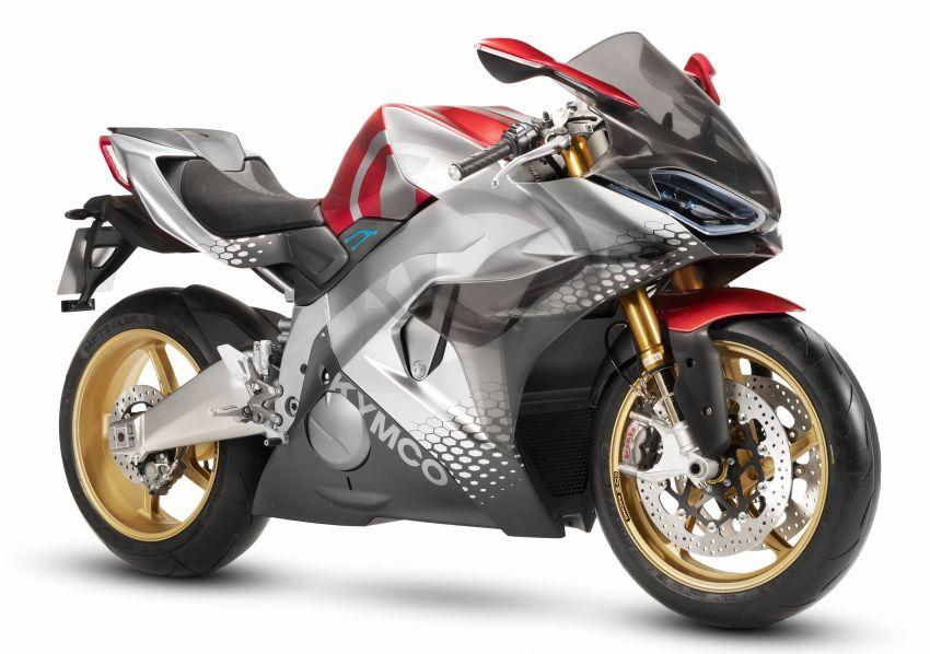 2018 EICMA: KYMCO shows SuperNEX e-bike Image #886816