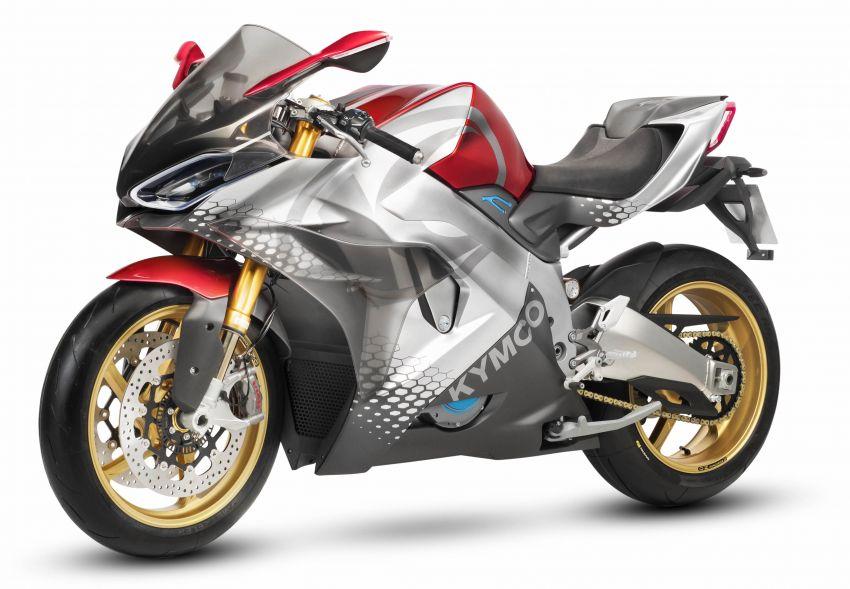 2018 EICMA: KYMCO shows SuperNEX e-bike Image #886817