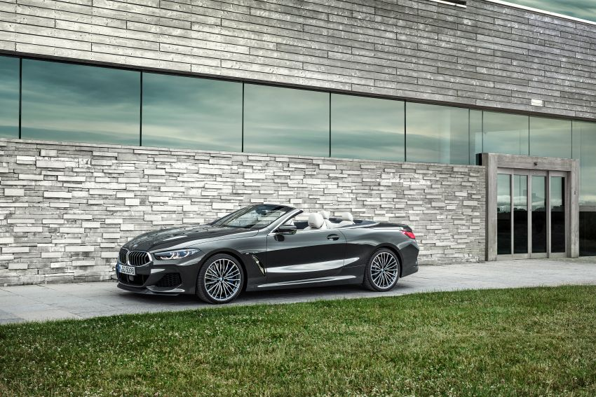 G14 BMW 8 Series Convertible – two variants, for now Image #882522