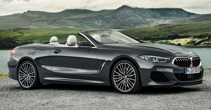 G14 BMW 8 Series Convertible – two variants, for now Image #882531