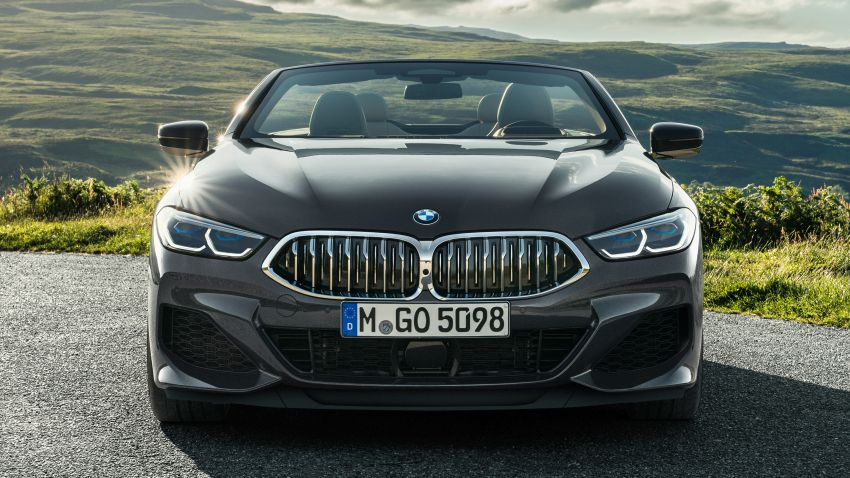 G14 BMW 8 Series Convertible – two variants, for now Image #882533