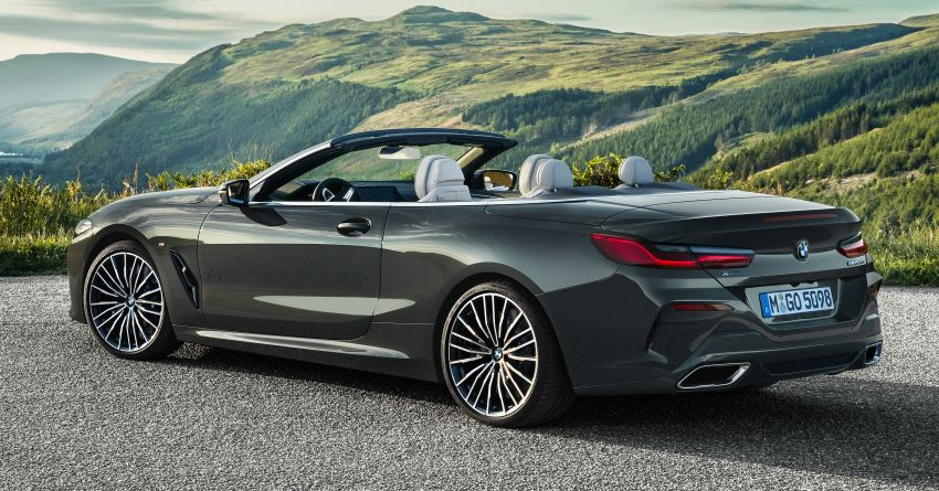 G14 BMW 8 Series Convertible – two variants, for now Image #882535
