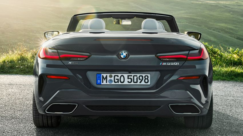 G14 BMW 8 Series Convertible – two variants, for now Image #882537