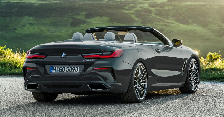 G14 BMW 8 Series Convertible – two variants, for now Image #882538
