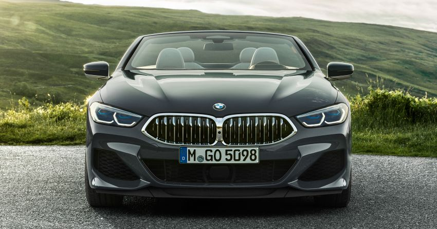 G14 BMW 8 Series Convertible – two variants, for now Image #882539
