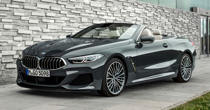 G14 BMW 8 Series Convertible – two variants, for now Image #882523