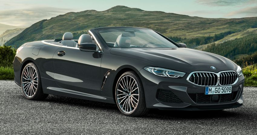 G14 BMW 8 Series Convertible – two variants, for now Image #882541
