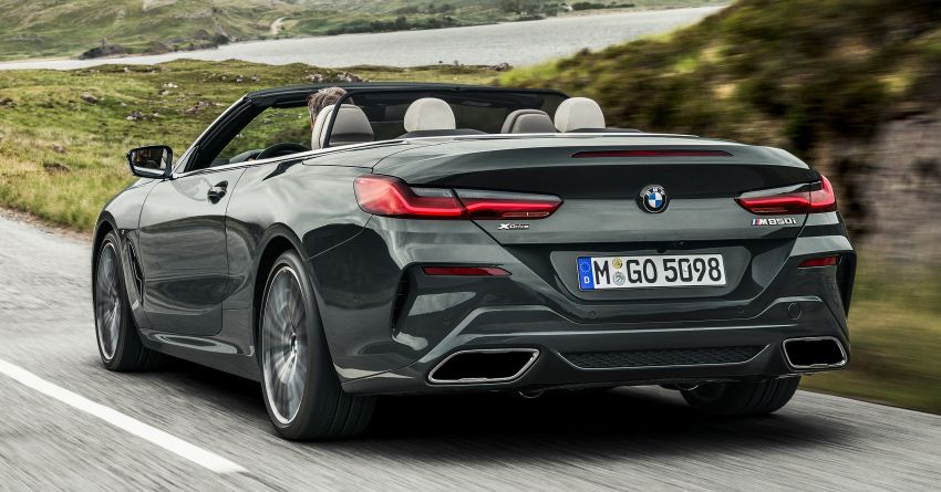 G14 BMW 8 Series Convertible – two variants, for now Image #882543