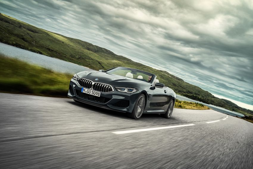 G14 BMW 8 Series Convertible – two variants, for now Image #882544