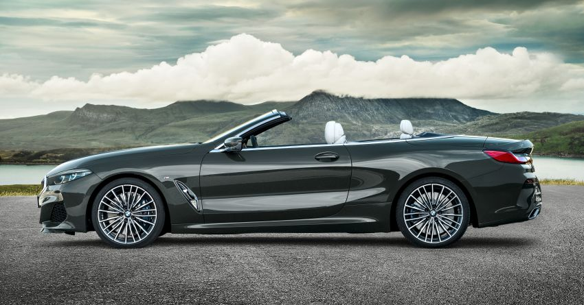 G14 BMW 8 Series Convertible – two variants, for now Image #882545