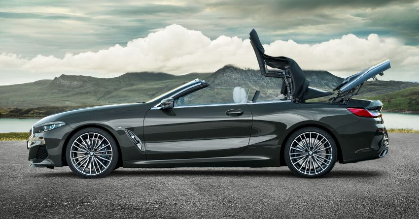 G14 BMW 8 Series Convertible – two variants, for now Image #882547