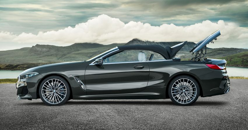 G14 BMW 8 Series Convertible – two variants, for now Image #882548