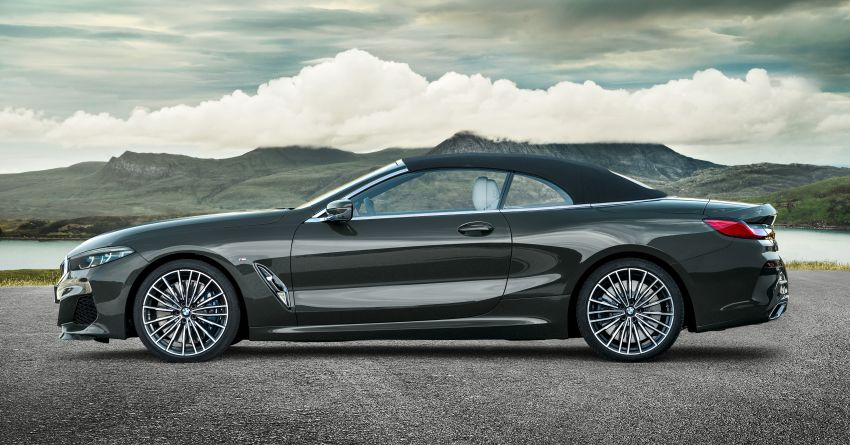 G14 BMW 8 Series Convertible – two variants, for now Image #882549