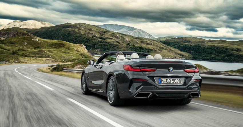 G14 BMW 8 Series Convertible – two variants, for now Image #882550