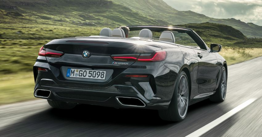 G14 BMW 8 Series Convertible – two variants, for now Image #882524