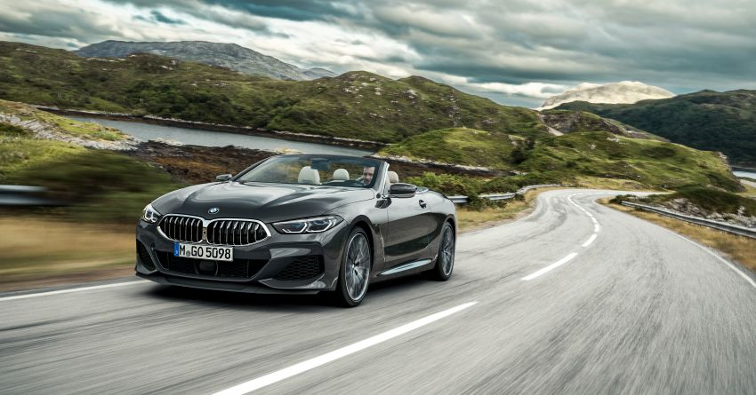 G14 BMW 8 Series Convertible – two variants, for now Image #882551