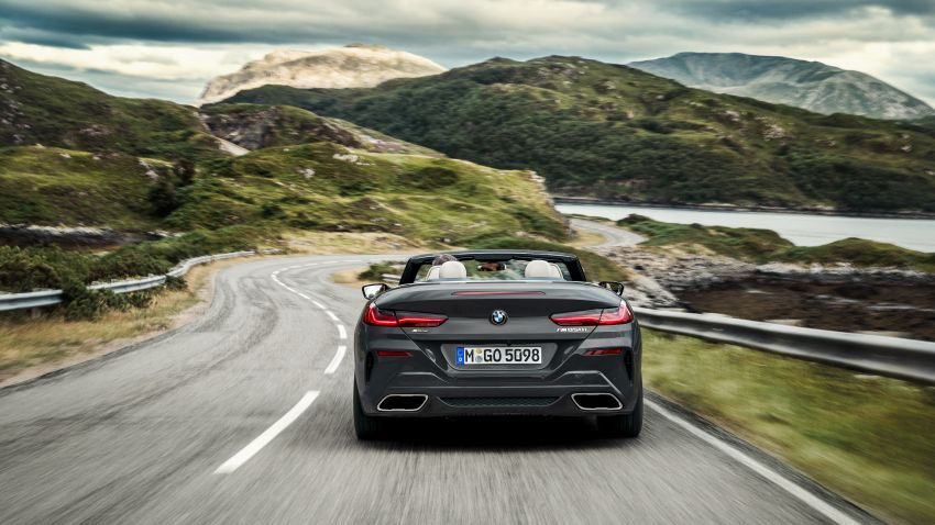 G14 BMW 8 Series Convertible – two variants, for now Image #882552