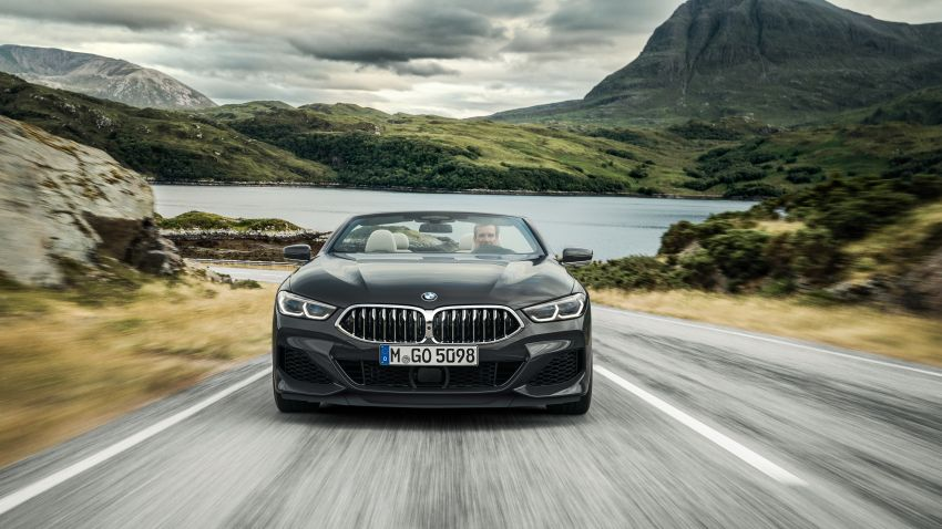 G14 BMW 8 Series Convertible – two variants, for now Image #882553