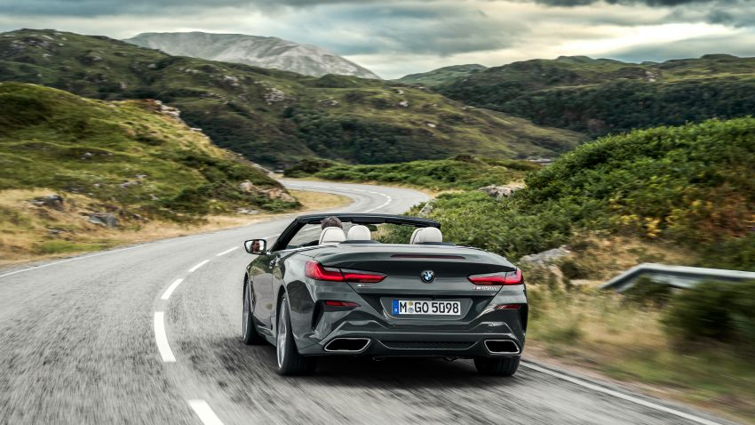 G14 BMW 8 Series Convertible – two variants, for now Image #882554