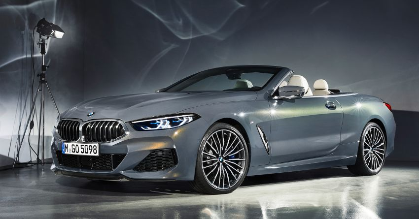 G14 BMW 8 Series Convertible – two variants, for now Image #882555