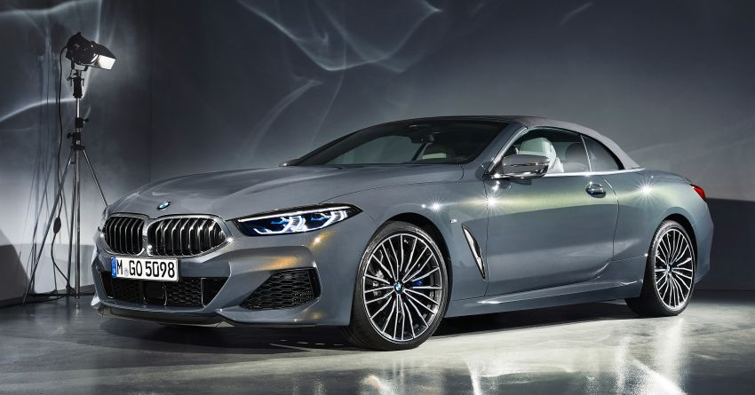 G14 BMW 8 Series Convertible – two variants, for now Image #882556