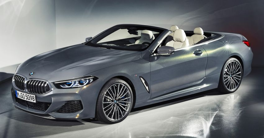G14 BMW 8 Series Convertible – two variants, for now Image #882557