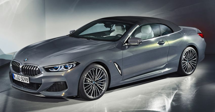 G14 BMW 8 Series Convertible – two variants, for now Image #882558