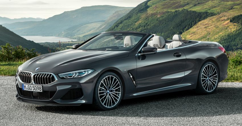 G14 BMW 8 Series Convertible – two variants, for now Image #882525