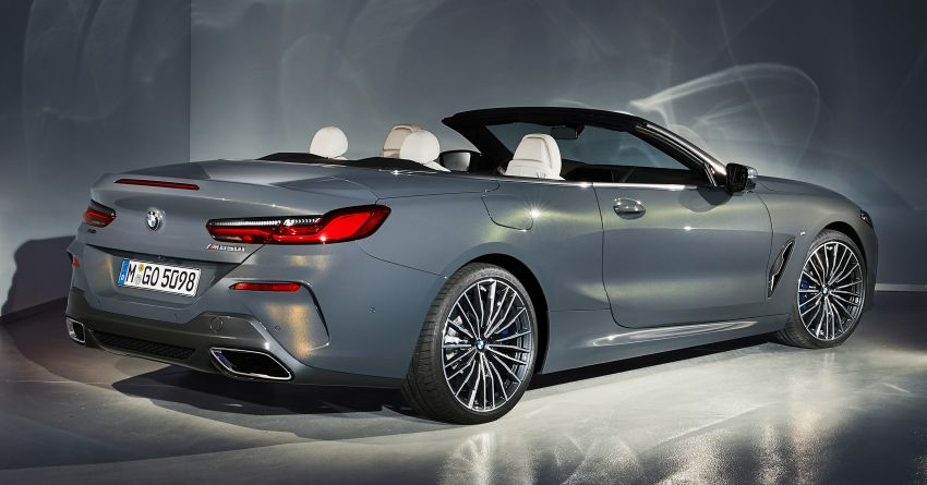 G14 BMW 8 Series Convertible – two variants, for now Image #882561