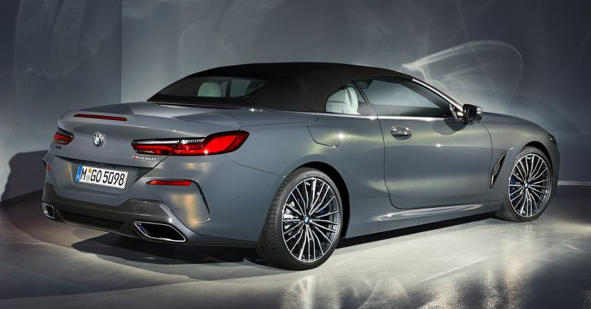 G14 BMW 8 Series Convertible – two variants, for now Image #882562