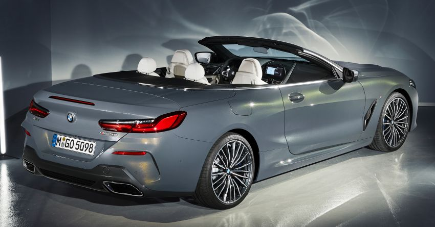 G14 BMW 8 Series Convertible – two variants, for now Image #882563