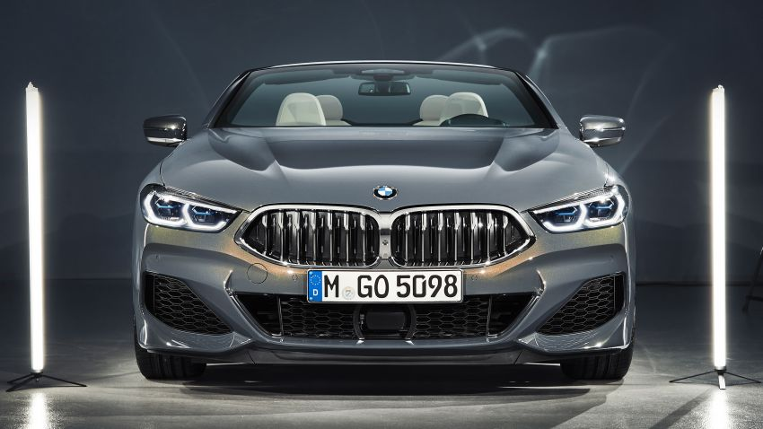 G14 BMW 8 Series Convertible – two variants, for now Image #882564
