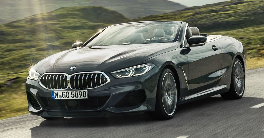 G14 BMW 8 Series Convertible – two variants, for now Image #882526