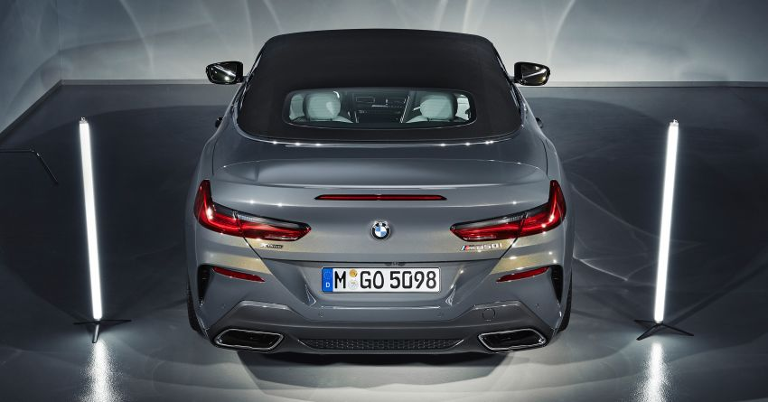 G14 BMW 8 Series Convertible – two variants, for now Image #882572