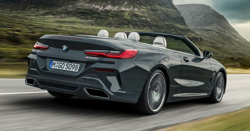 G14 BMW 8 Series Convertible – two variants, for now Image #882527